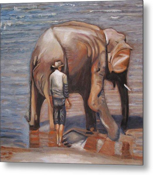 Elephant Man Metal Print by Keith Bagg