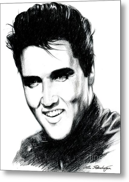 Elvis Metal Print
