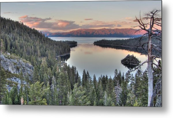 Emerald Bay Colors Metal Print