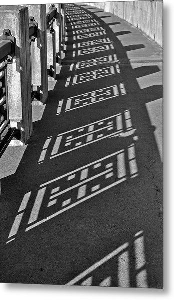 Endless Walkway Metal Print by John Ricker