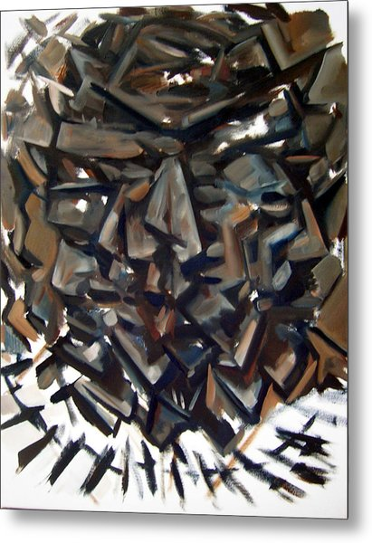 Epistrophy Process One Metal Print by Martel Chapman