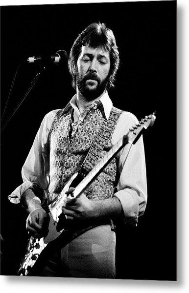 Eric Clapton 1977 Metal Print