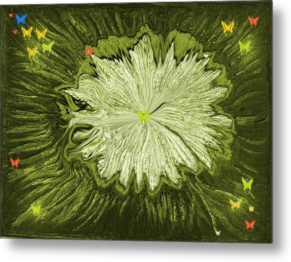 Escape Of The Butterflies Metal Print by Sherri's - Of Palm Springs