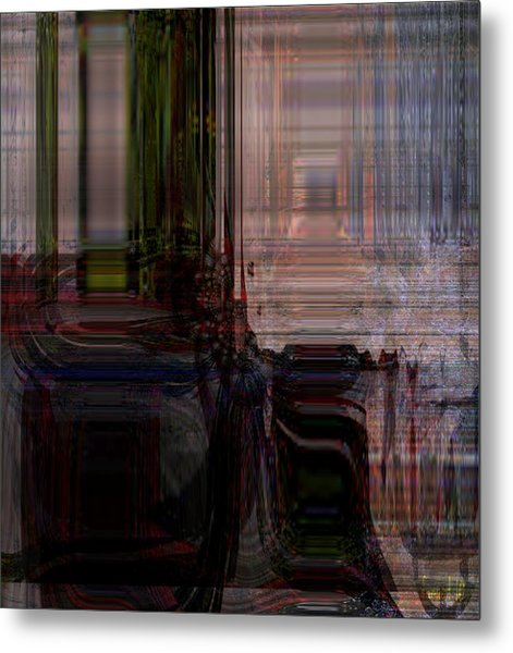 Escaping Dead End Situation Metal Print by Fania Simon