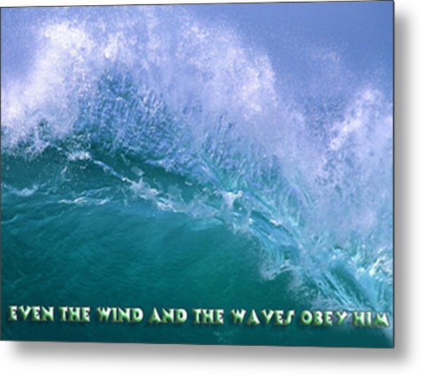 Even The Wind  Metal Print by Philip McDonald