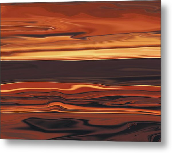 Evening In Ottawa Valley 1 Metal Print