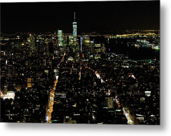Everglow Of New York  Metal Print