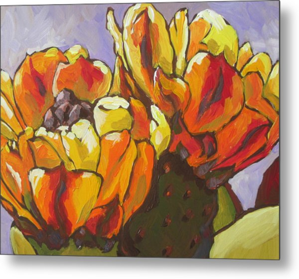 Explosion Of Color Metal Print