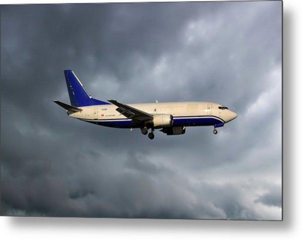 Express Air Cargo Boeing 737-3g7 Metal Print