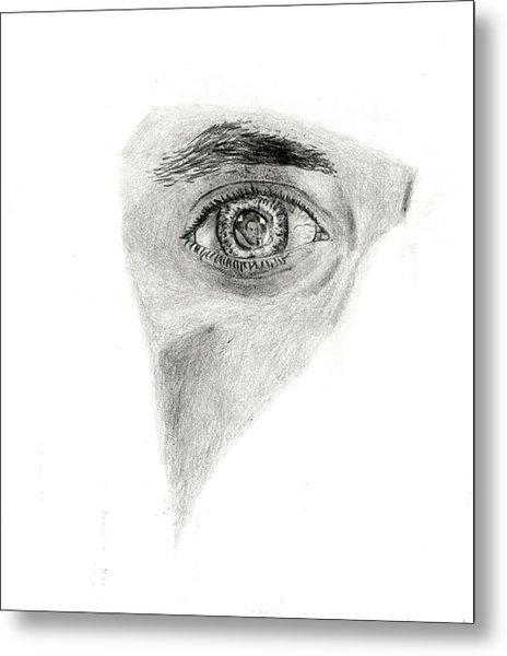 Eye See My Self Metal Print