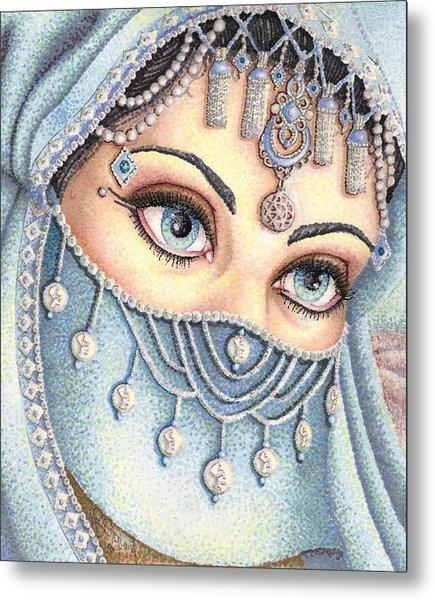 Eyes Like Water Metal Print by Scarlett Royal