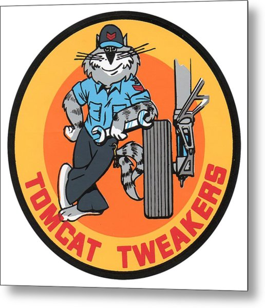 F-14 Tomcat Tweakers Metal Print