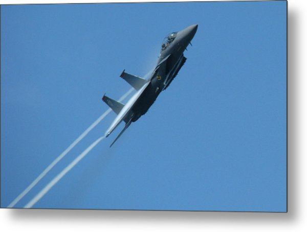 F-15 Strike Eagle Metal Print