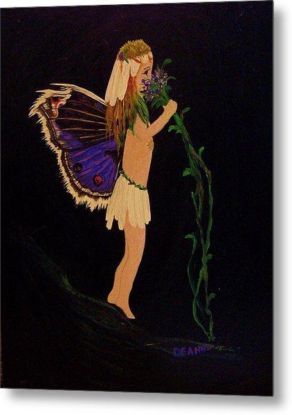 Fairy Girl Metal Print