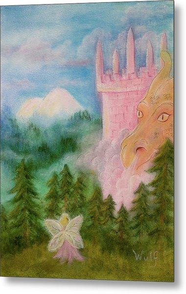 Fairy Sunrise Metal Print