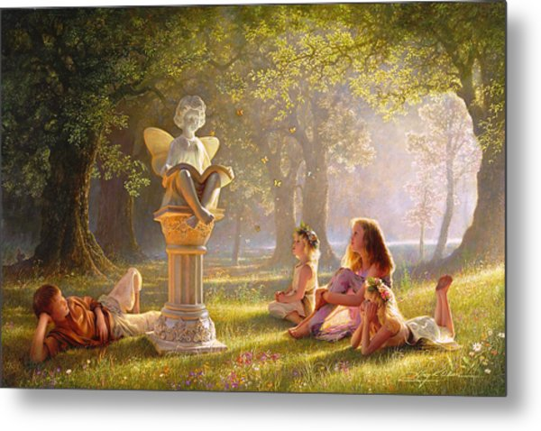 Metal Print featuring the painting Fairy Tales  by Greg Olsen