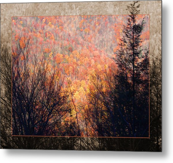 Fall Mountain Metal Print
