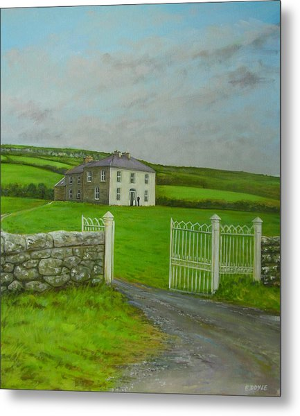 Father Ted Metal Print by Eamon Doyle