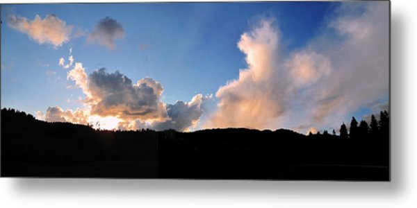 Felton Sunset Metal Print by Larry Darnell