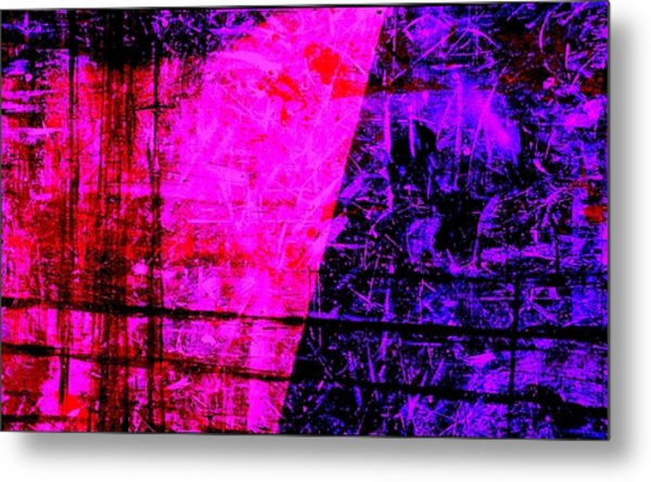 Fences Metal Print