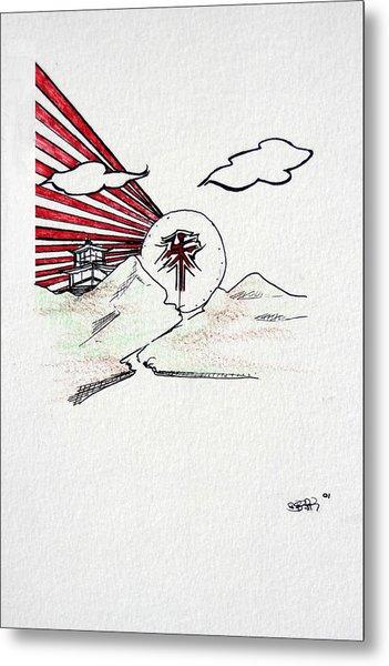 Feng Shui Metal Print