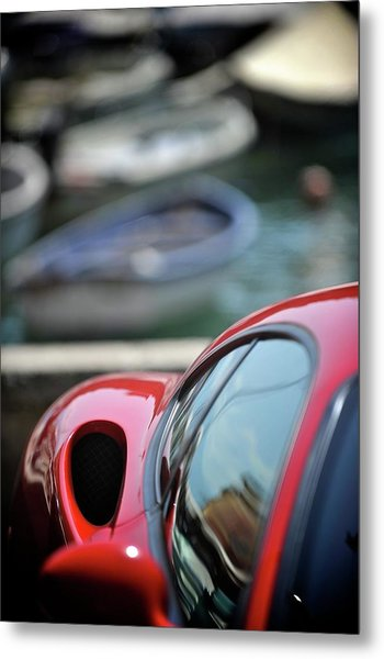 Ferrari 3 Metal Print by Bobby Bouchikhi