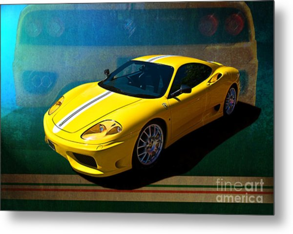 Ferrari F430 Metal Print