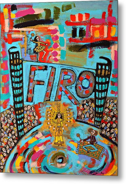 Firo The Dancer Metal Print by Maggis Art