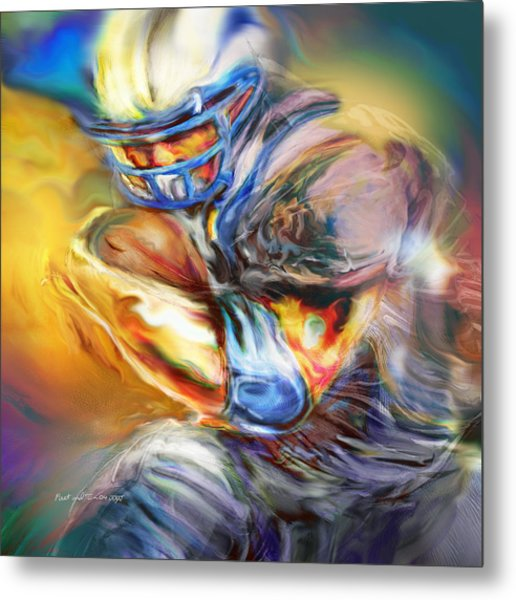 First And Ten Metal Print