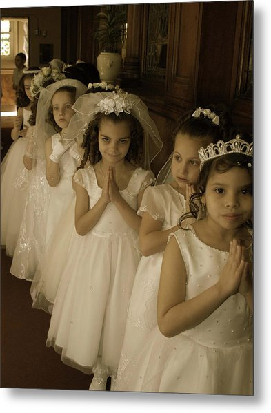 First Holy Communion Metal Print