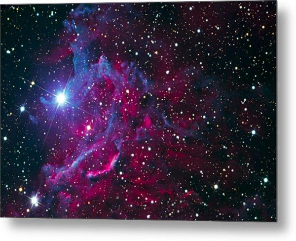 Flaming Star Nebula Metal Print