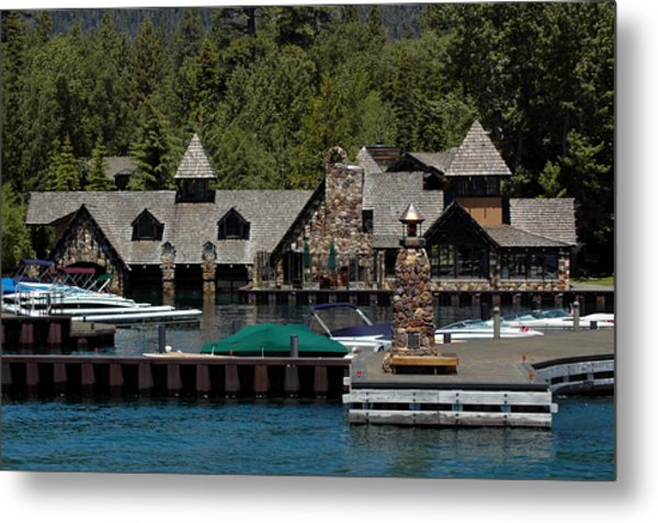 Fleur De Lac Mansion The Godfather II Metal Print