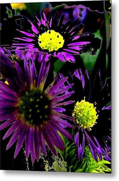Floral 81 Metal Print by Chuck Landskroner