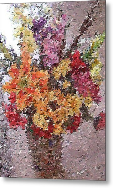 Floral Arrangement Metal Print by Don Phillips