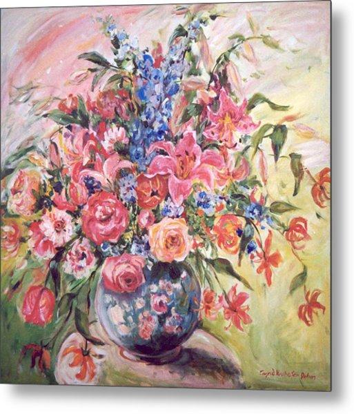Floral Arrangement No. 2 Metal Print