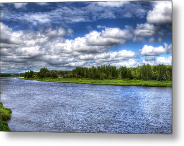 Flowing Down The River Metal Print