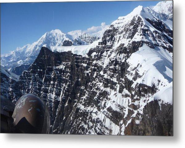 Flying Thru The Great Gorge Metal Print