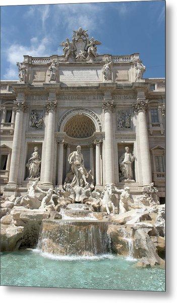 Fontana Di Trevi In Rome I Metal Print