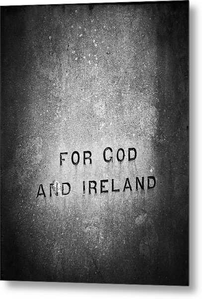 For God And Ireland Macroom Ireland Metal Print