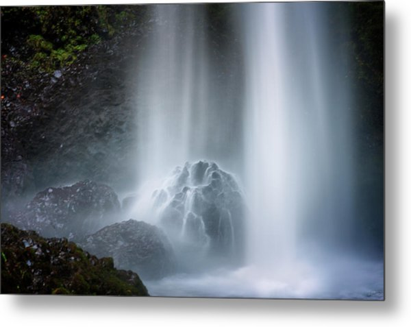 Force Of Water Metal Print