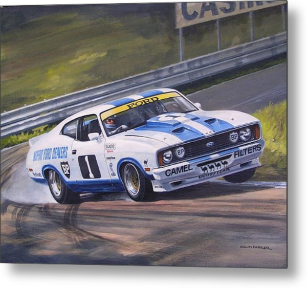 Ford Cobra - Moffat Racing  Metal Print