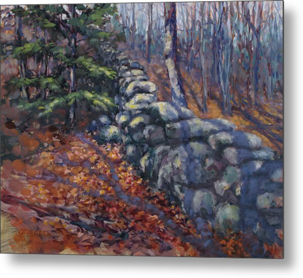 Forest Wall Metal Print