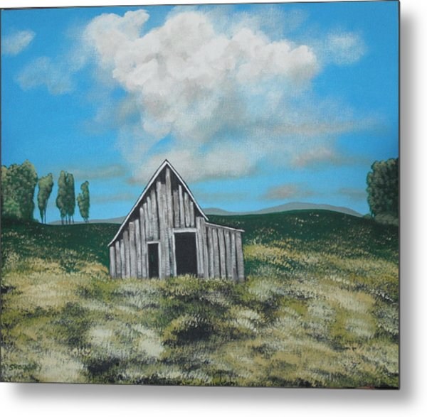 Forgotten Metal Print by Candace Shockley