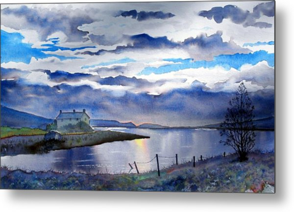 Four Seasons One Day At Grimwith Metal Print