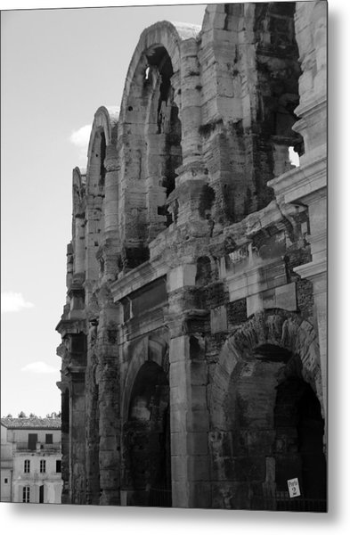 French Colosseum Metal Print by Noelle  Kimberley
