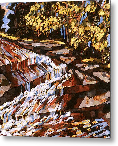 Frenchtown Creek Metal Print