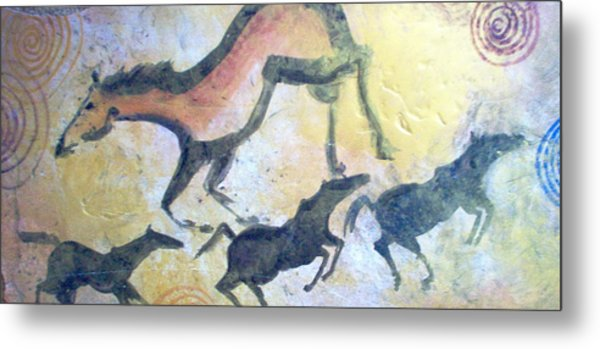 Fresco Metal Print by Lelia DeMello