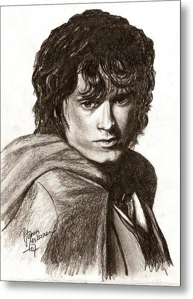 Frodo Metal Print by Maren Jeskanen