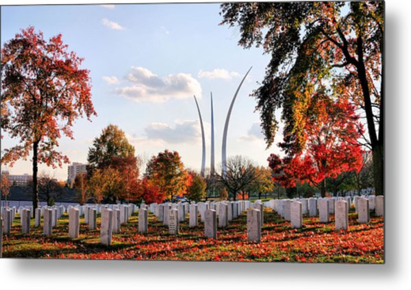 From Arlington Metal Print