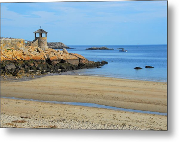 Front Beach Low Tide Metal Print